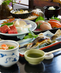 9種類から選べるご夕食